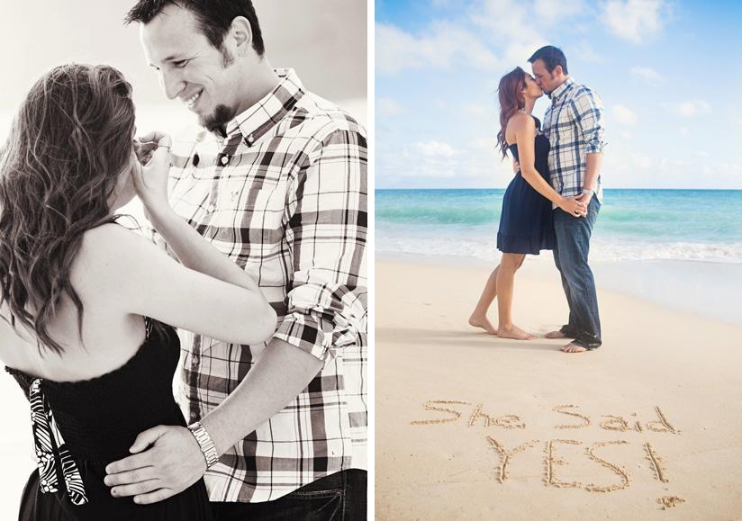 Image 7 of Michael and Kristyn's Hawaii Beach Proposal