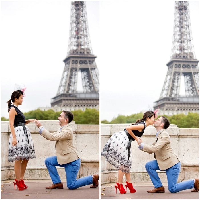 Paris Proposal Marriage Photographer