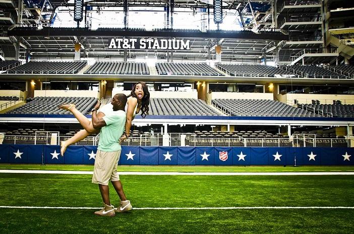 Image 7 of Cory & Ivy's Proposal at the Dallas Cowboys AT&T Stadium