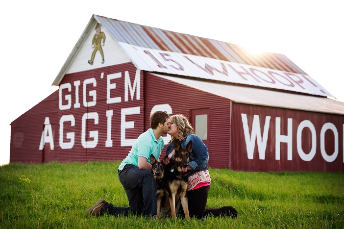 Marriage Proposal at Texas A&M University (4)