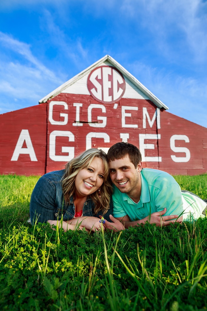 Marriage Proposal at Texas A&M University (5)
