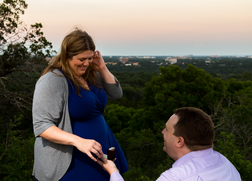 Marriage Proposal on Mount Bonnell (14)