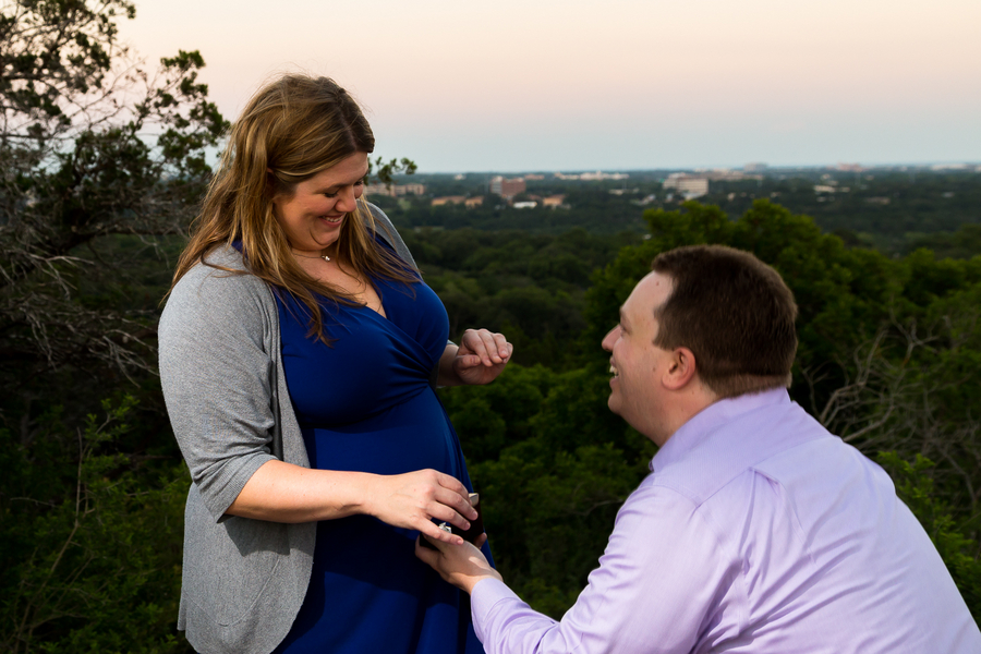 Marriage Proposal on Mount Bonnell (15)