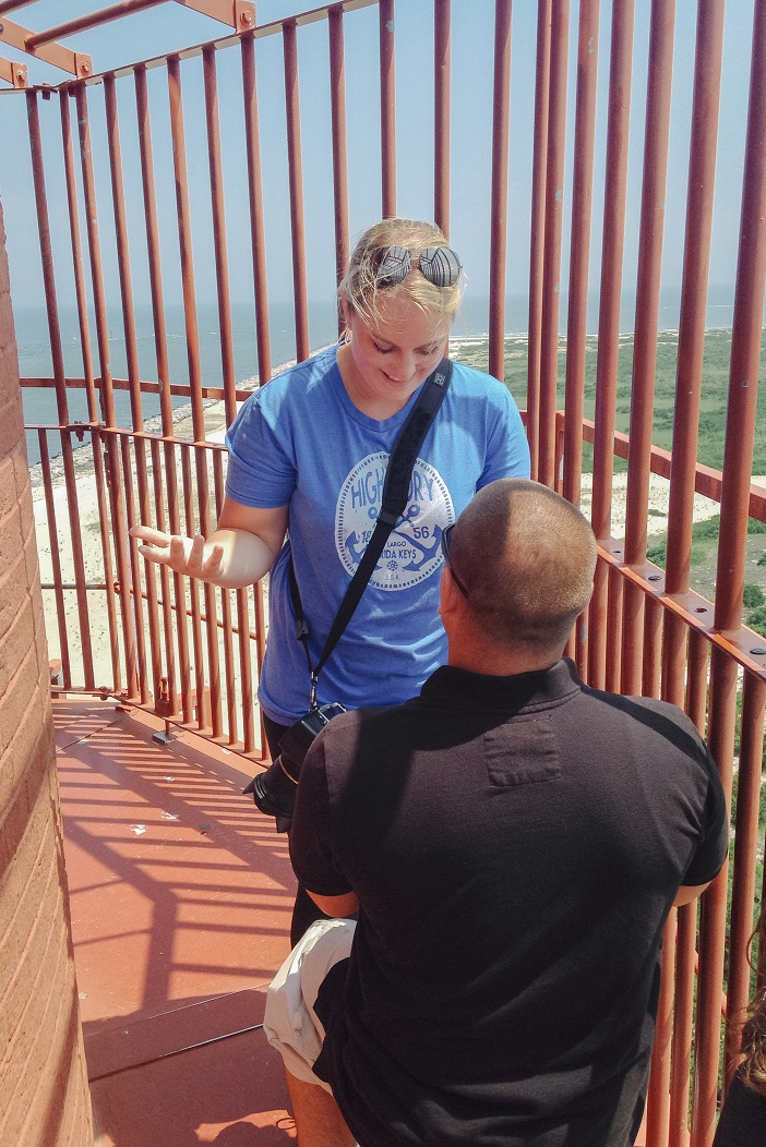 Proposal at Barnegat Lighthouse (1)