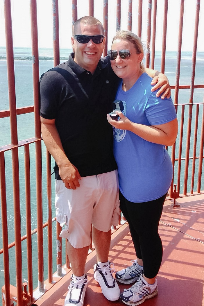 Proposal at Barnegat Lighthouse (2)