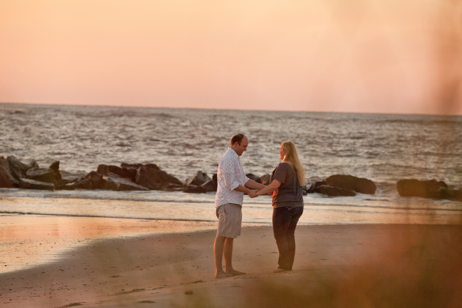 Romantic Sunrise Beach Proposal (21)