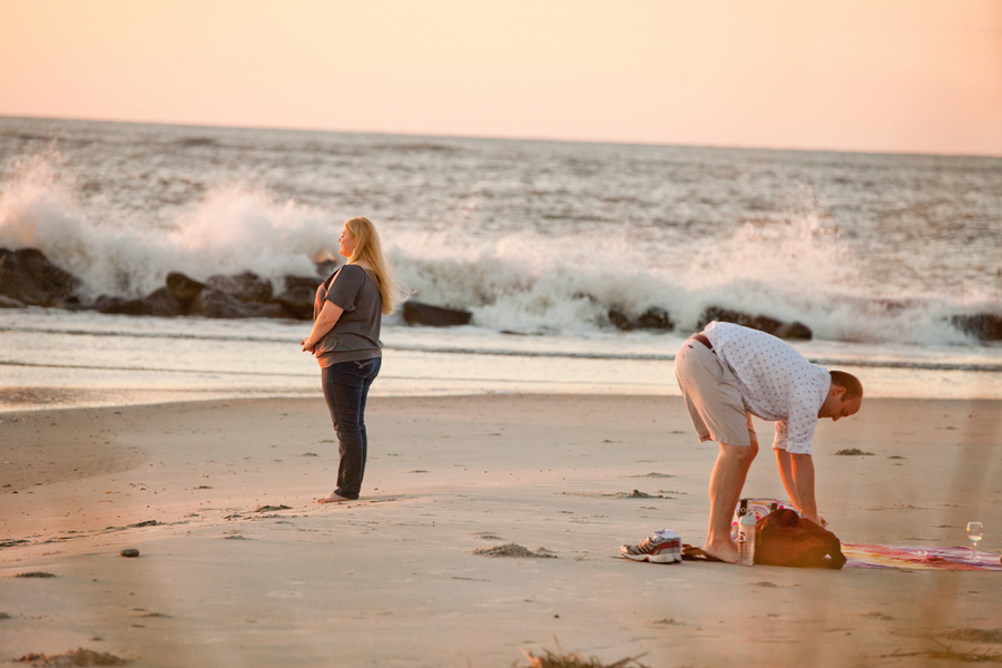 Romantic Sunrise Beach Proposal (22)