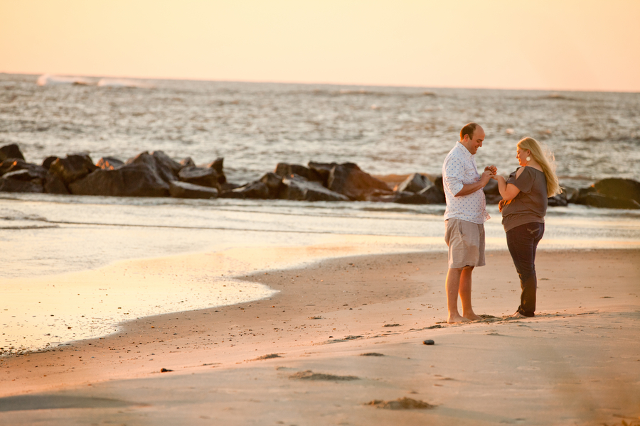Romantic Sunrise Beach Proposal (3)