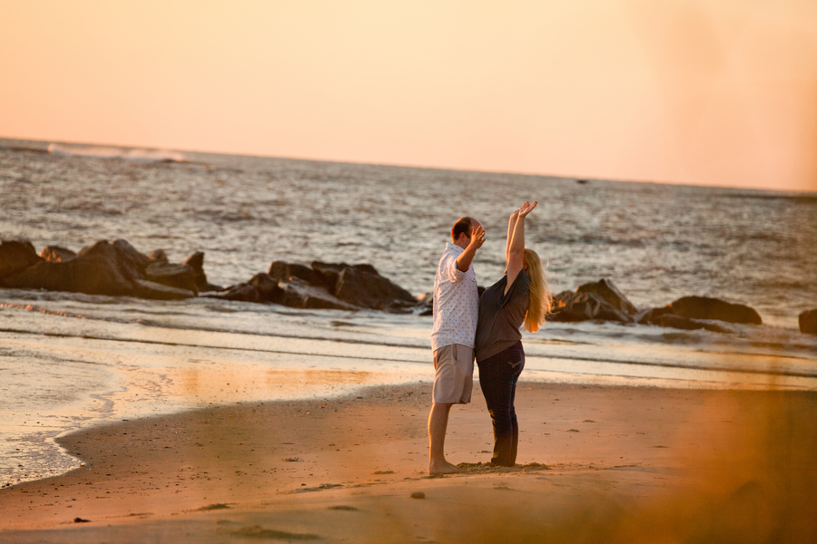 Romantic Sunrise Beach Proposal (4)