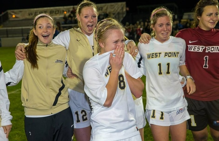 Image 2 of West Point Soccer Player Gets an On-Field Surprise