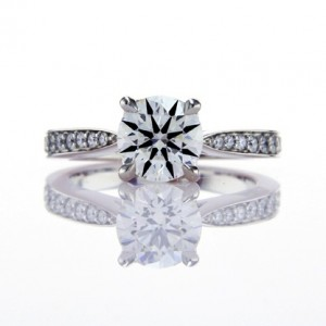 Classic Truth Sleek Micro Pave White Gold