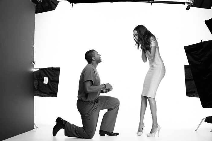 Supermodel Gets A Big Surprise During Fake Photoshoot
