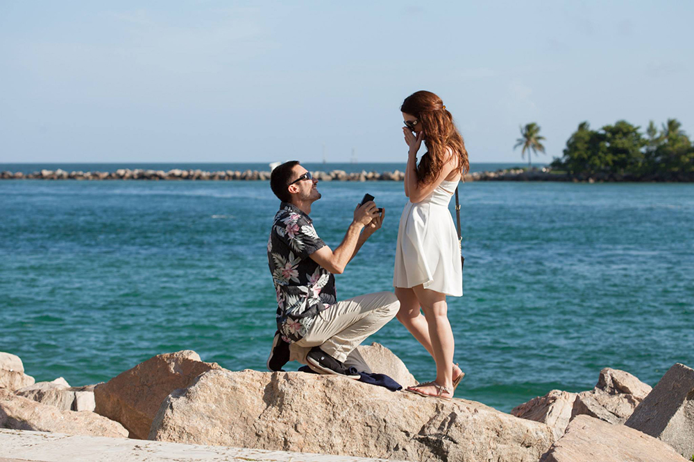 Marriage Proposal in Miami