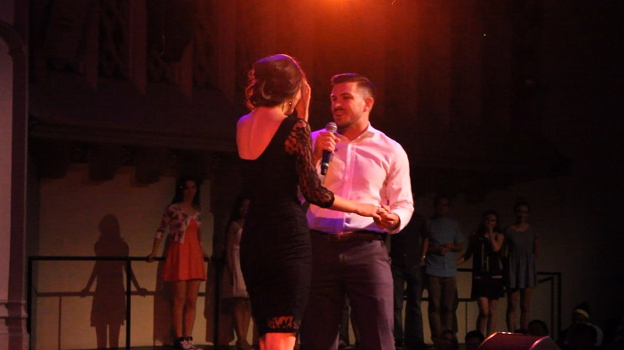 Image 7 of Anna and Alex's Amazingly Entertaining A Capella Proposal