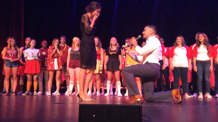 Image 8 of Anna and Alex's Amazingly Entertaining A Capella Proposal