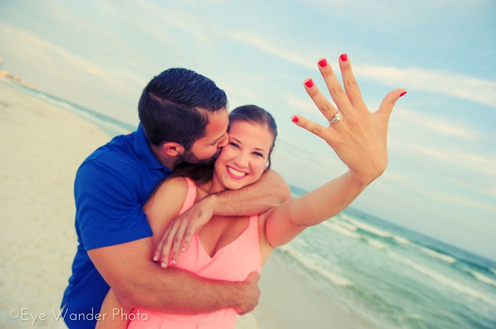Beautiful Beach Proposal (1)