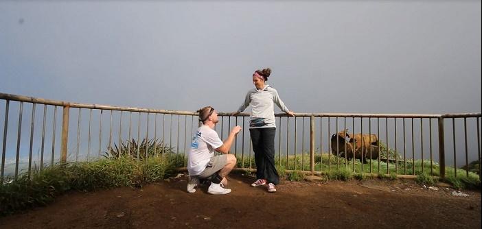 Image 7 of Nicole and Ste's Haiku Stairs Proposal