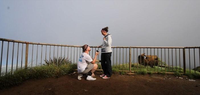 Image 8 of Nicole and Ste's Haiku Stairs Proposal