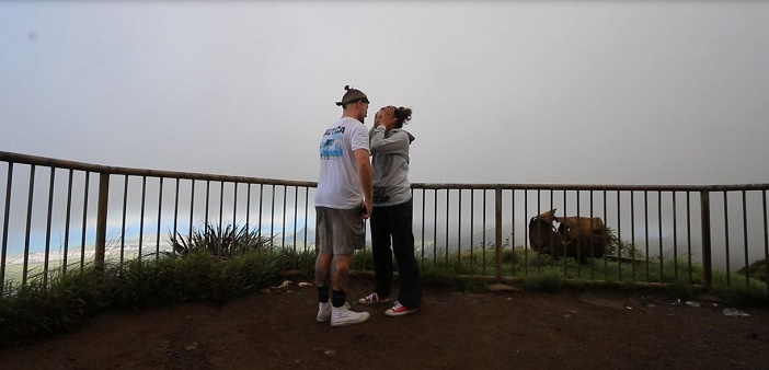 Image 9 of Nicole and Ste's Haiku Stairs Proposal