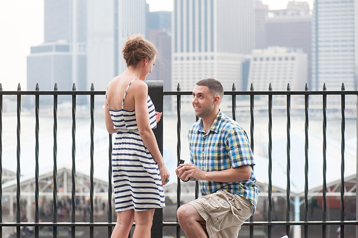 Image 8 of John and Michelle's Brooklyn Promenade Proposal