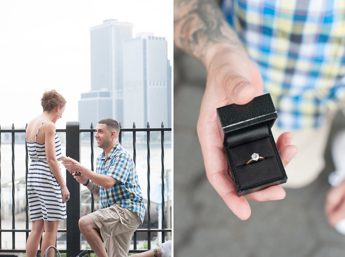 Image 10 of John and Michelle's Brooklyn Promenade Proposal