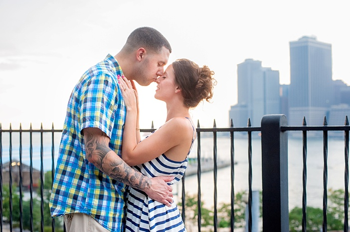 Image 2 of John and Michelle's Brooklyn Promenade Proposal