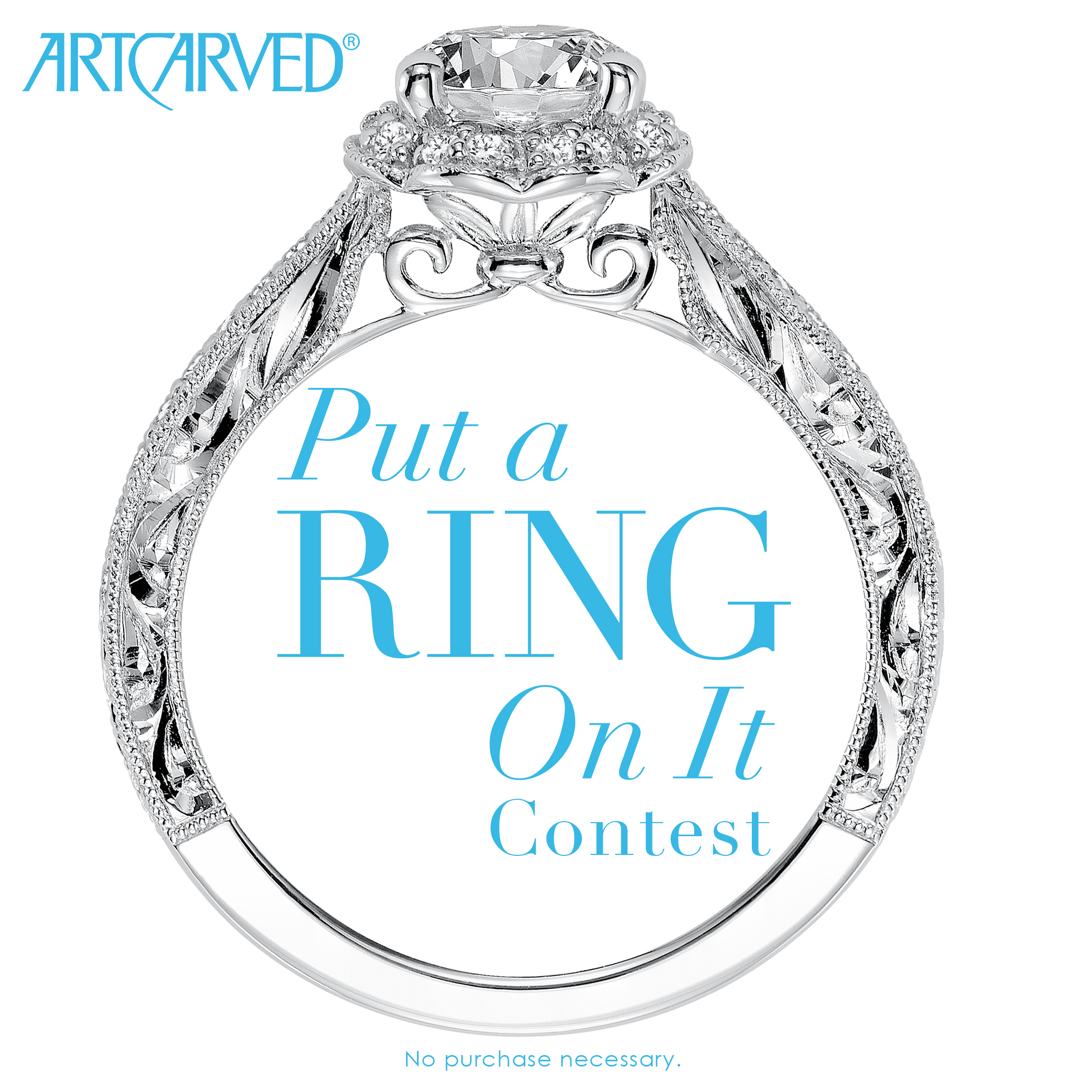 Image 1 of Win $5,000 Towards an Engagement Ring or Wedding Bands from ArtCarved