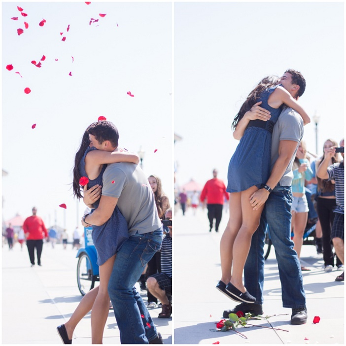 Flash Mob Proposal on the Pier (3)