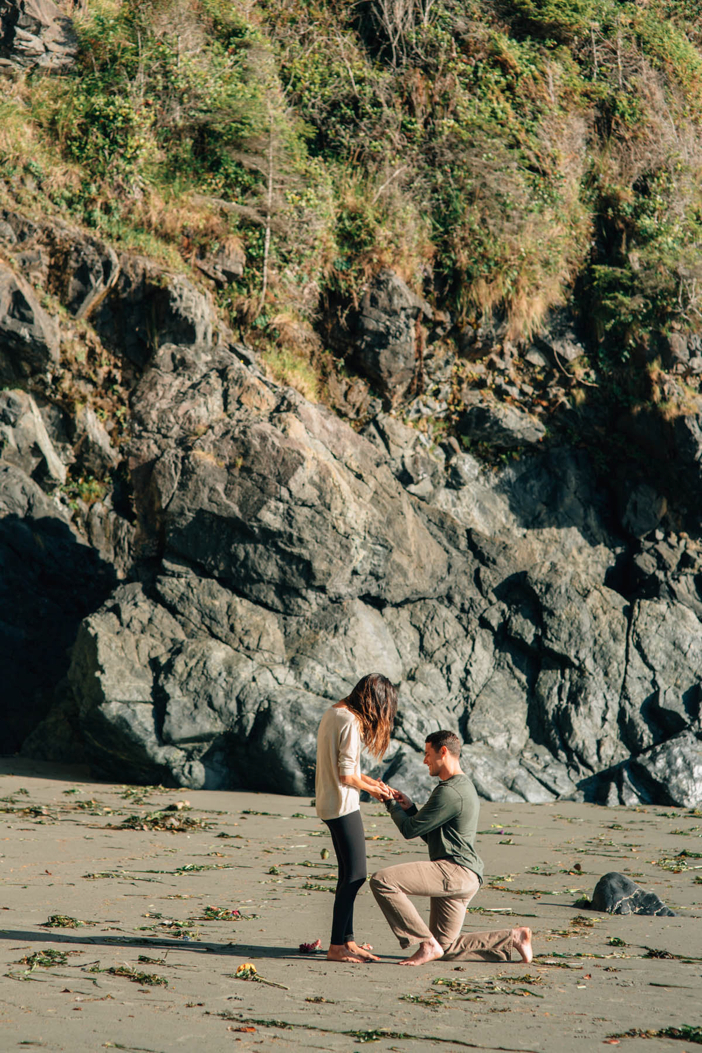 Image 2 of Alisha and Terry's Amazing Proposal on Mystic Beach