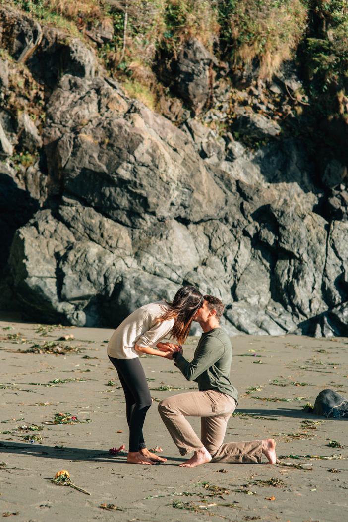 Image 3 of Alisha and Terry's Amazing Proposal on Mystic Beach