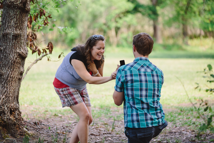 Marriage Proposal in the Park (6)