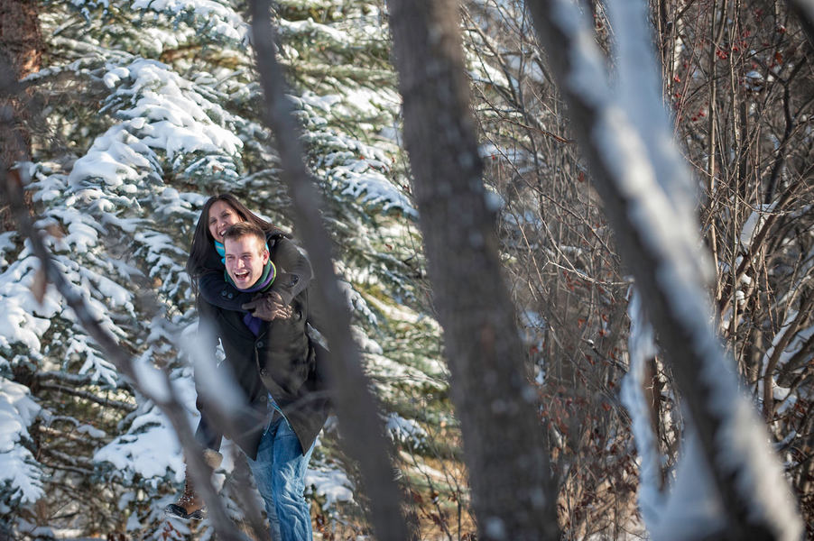 Image 4 of Kyle and Mary's Snowy Photoshoot Proposal