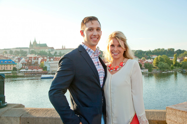 Image 1 of Nick & Christine's Marriage Proposal in Prague