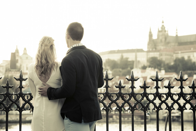 Image 9 of Nick & Christine's Marriage Proposal in Prague