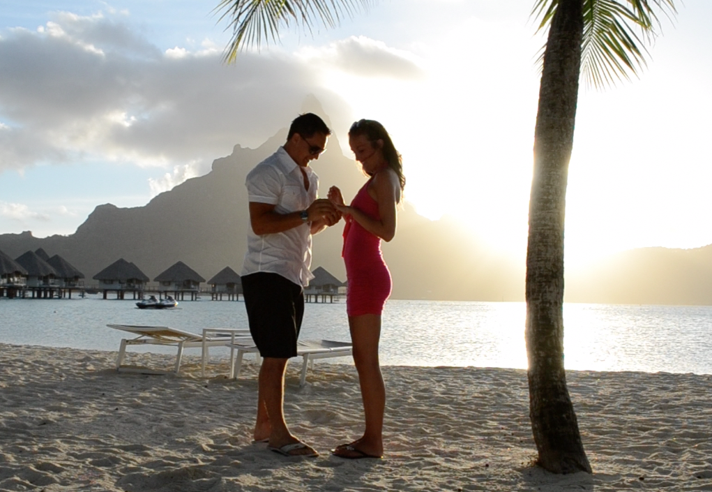 Proposal Ideas in Bora Bora