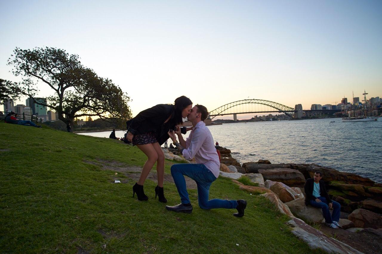Marriage Proposal in Sydney Australia