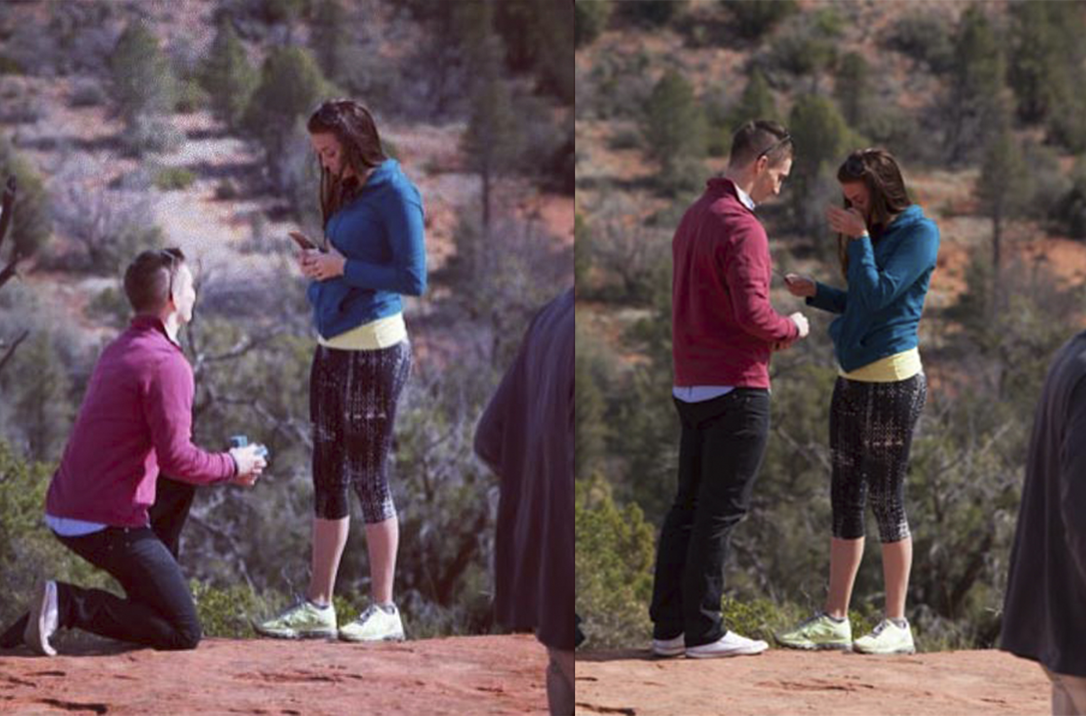 Image 5 of Whitney and Taylor's Proposal in Sedona