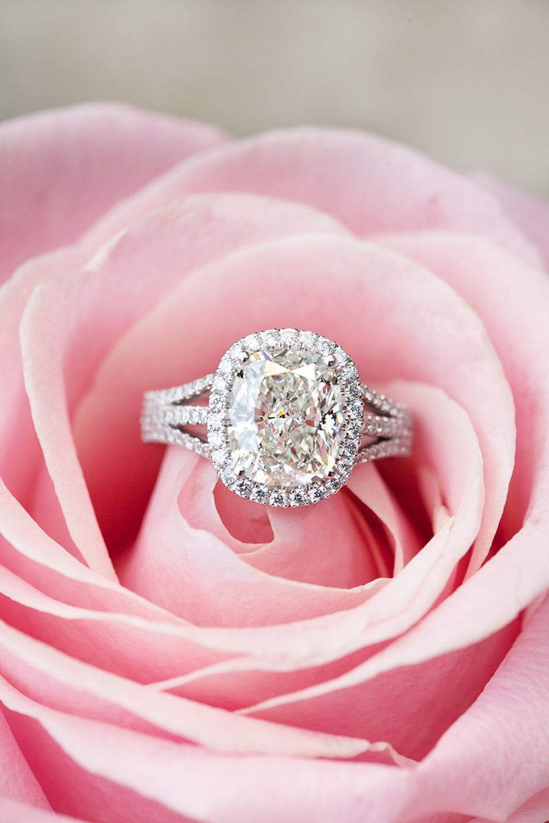 Engagement Rings and Flowers: 15 Perfect Shots