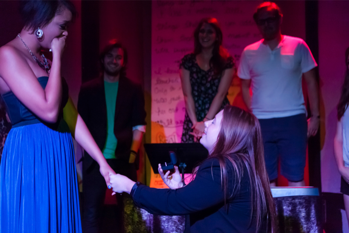Image 4 of Woman Proposes to Her Girlfriend With an Entire Musical About Their Relationship