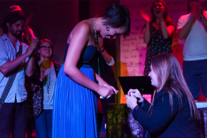 Image 5 of Woman Proposes to Her Girlfriend With an Entire Musical About Their Relationship