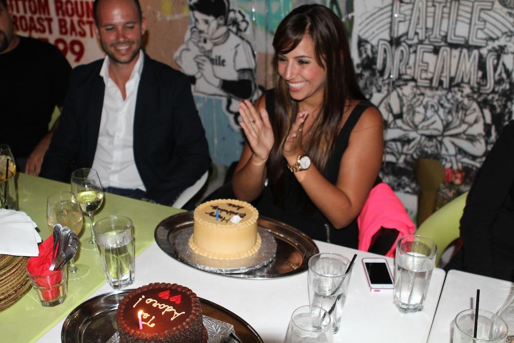surprise proposal during birthday