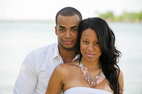 Image 1 of Yohanna and Dominick's Marriage Proposal at Church