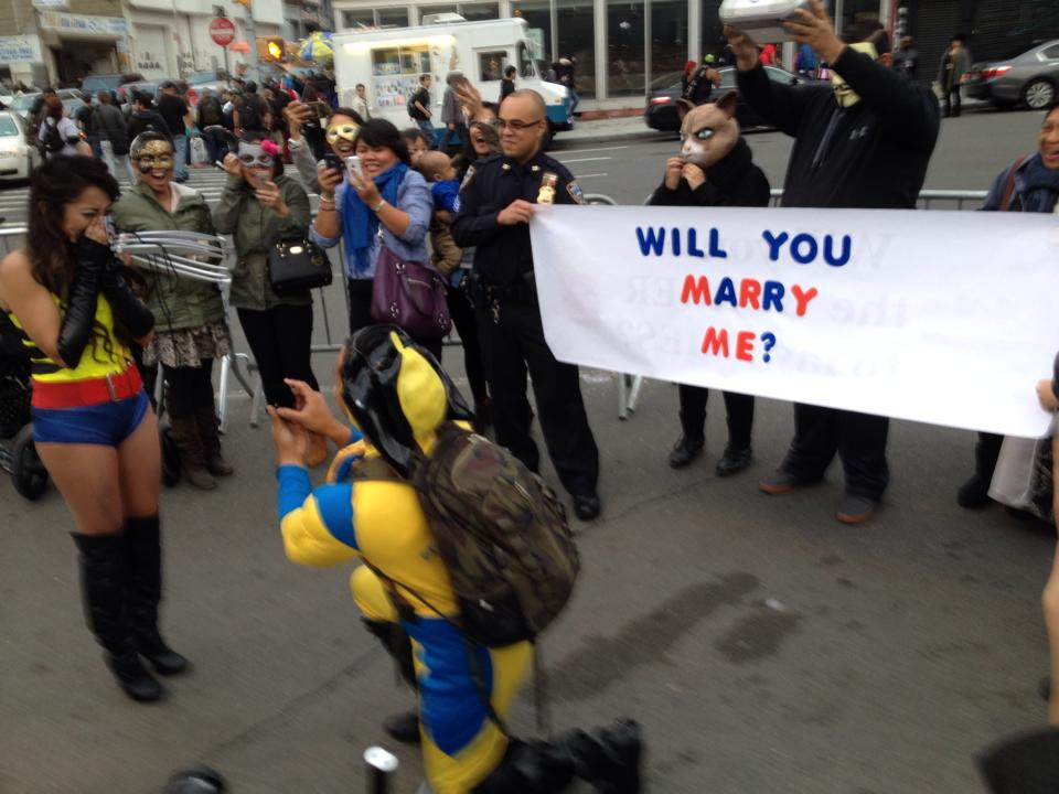 Comic Con Marriage Proposal