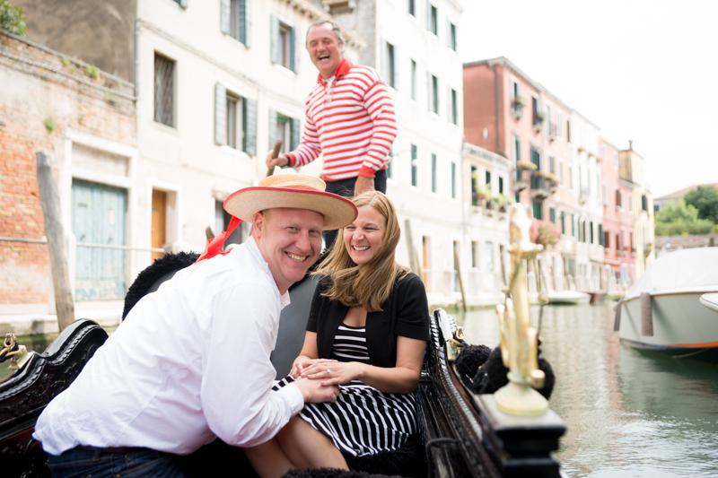 Gondala Proposal in Venice