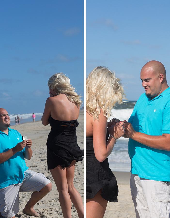 Beach Proposal Photo Shoot (2)
