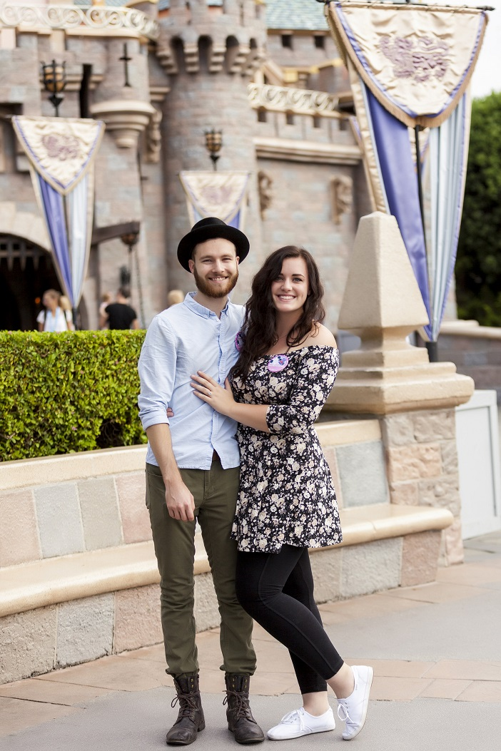 Image 1 of Disneyland Scavenger Hunt Proposal
