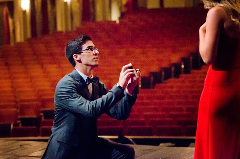 Image 3 of Lauren and Adam's Stunning Proposal at the Orpheum