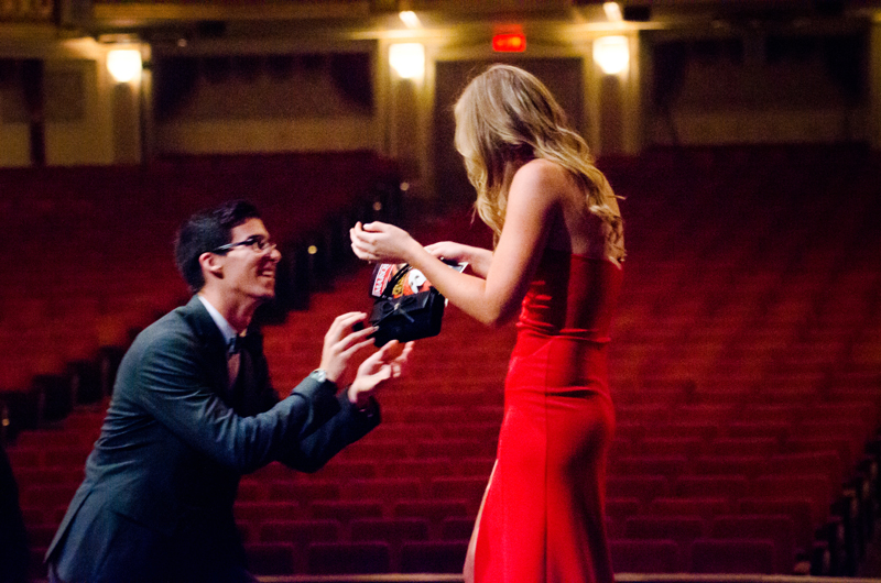 Image 5 of Lauren and Adam's Stunning Proposal at the Orpheum
