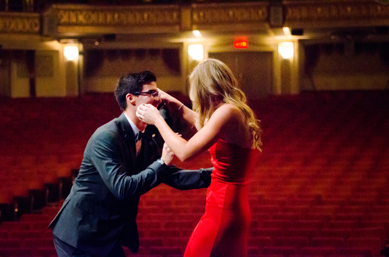 Image 6 of Lauren and Adam's Stunning Proposal at the Orpheum