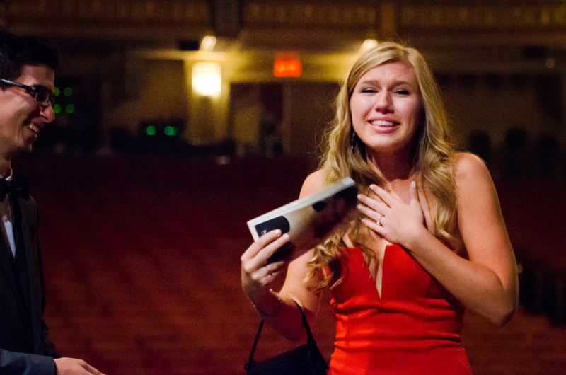 Image 15 of Lauren and Adam's Stunning Proposal at the Orpheum